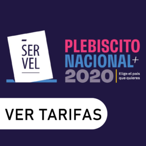 Tarifas Plebiscito Nacional 2020 La Mega